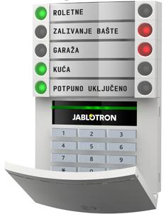 Tastatura za JA-100 alarmni sistem