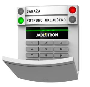 Tastatura za alarmni sistem JA-100